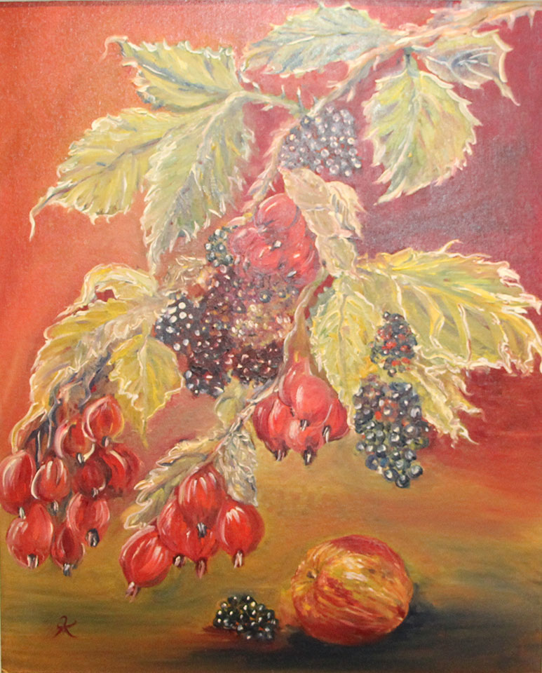 Last of the Autumn fruits - £375